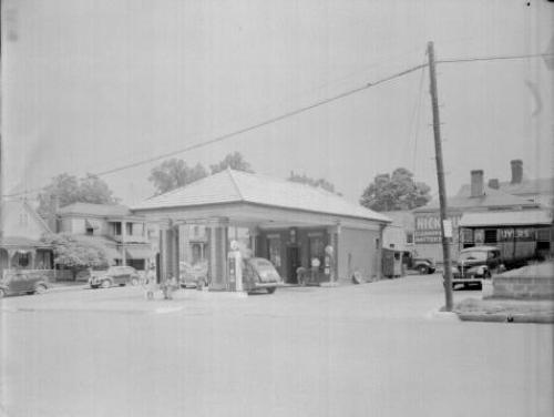 Person Market Esso Station 1948
