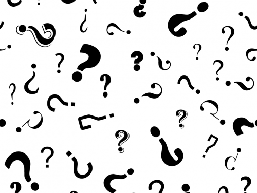 image depicting question marks