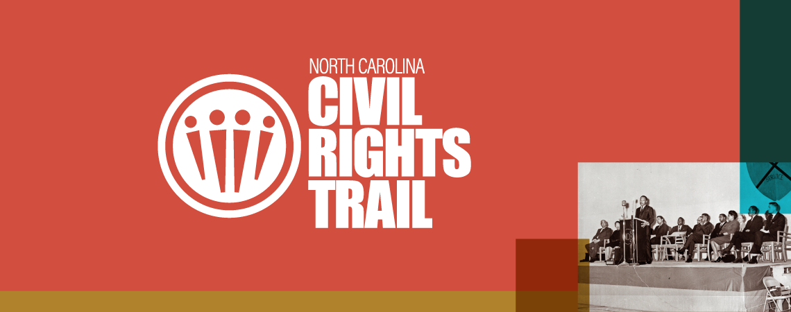 logo for the NC Civil Rights Trail