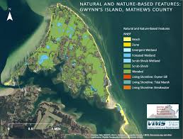Natural and Nature Bases Features in Gwynn's Island, Virginia