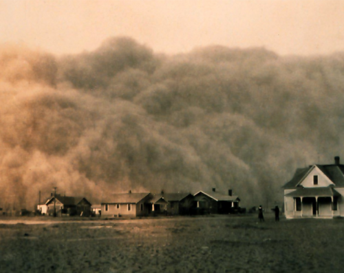 dust storm in the midwest