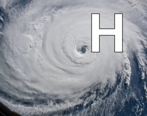 H is for hurricane