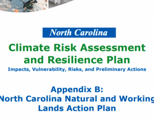 NC Natural and Working Lands Action Plan