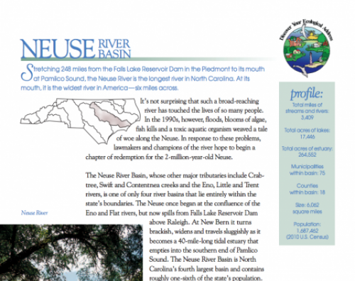 neuse river basin booklet