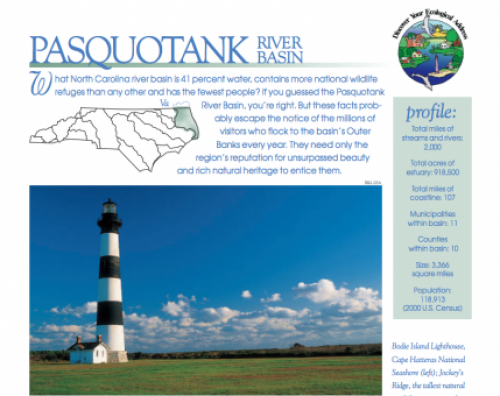 pasquotank river basin booklet