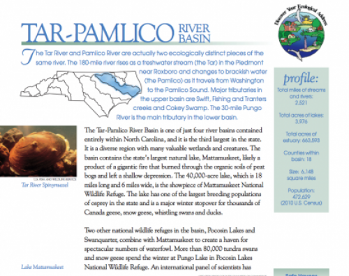 Tar Pamlico River Basin Booklet