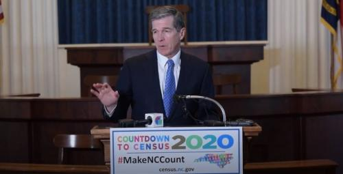 Governor Cooper - Countdown to Census 2020 Press Conference
