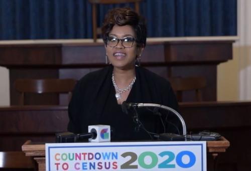 DOA Sec. Machelle Sanders - Countdown to Census 2020 Press Conference
