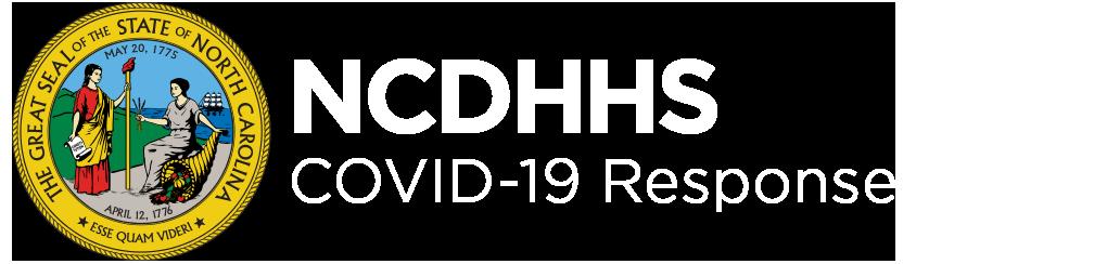 NCDHHS COVID-19 logo