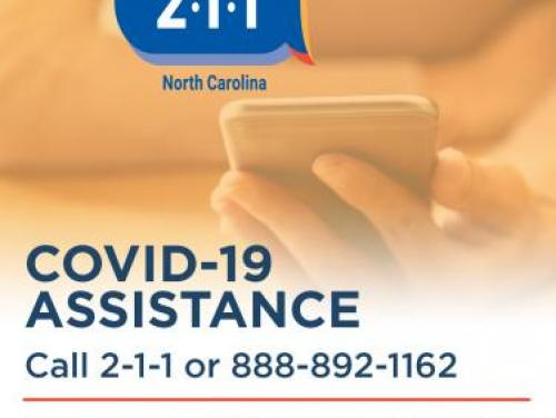 2-1-1 COVID-19 assistance