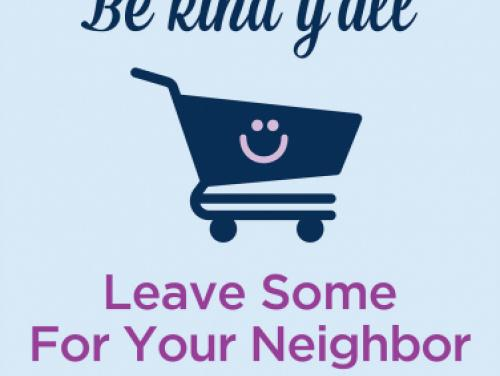 Be Kind: Save Groceries