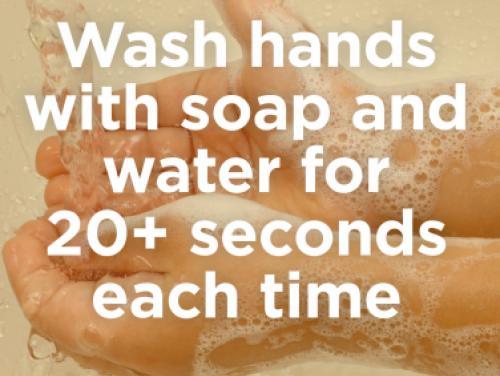 Hand Washing Instructions
