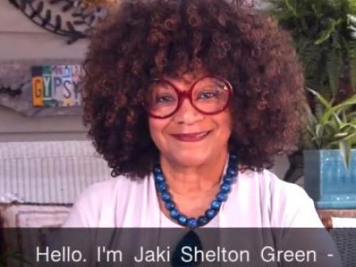 North Carolina Poet Laureate Jaki Shelton Green