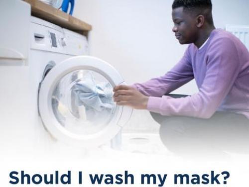 should I wash my mask?