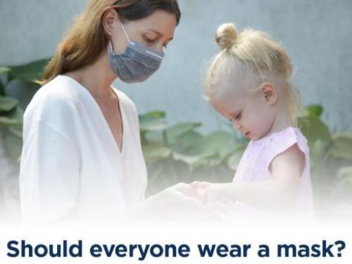 Who should wear a mask