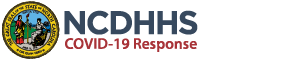 NC DHHS COVID 19 Logo
