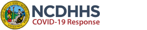 NC DHHS COVID-19 logo