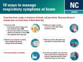 managing symptoms at home