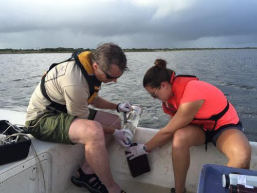 obtaining water samples