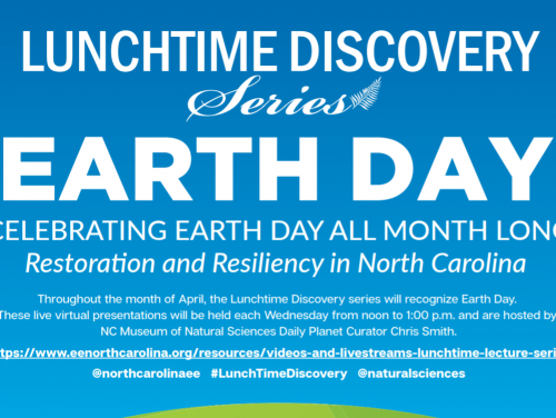 Lunchtime Discovery Earth Day 2021
