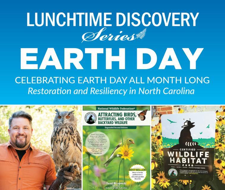 graphic advertising David Mizejewski's talk on April 14