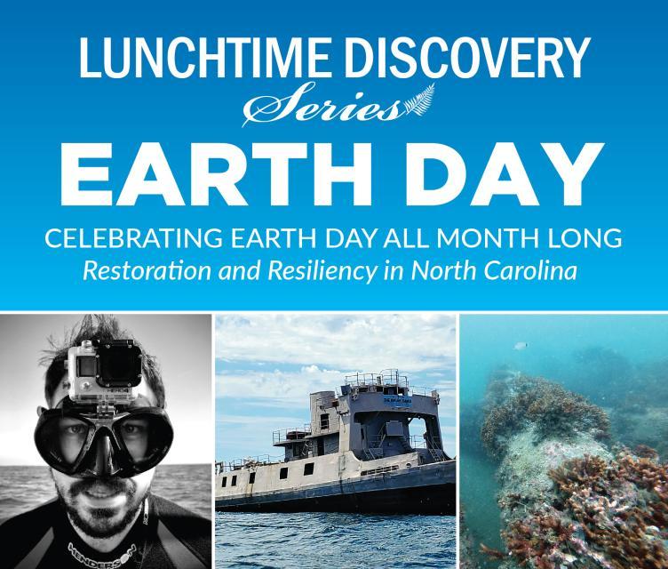 graphic advertising Zach Harrison's talk on artificial reefs