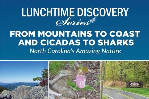 graphic advertising Mt. Jefferson talk on May 5, 2021