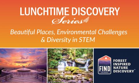 graphic advertising the FIND Outdoors talk on June 16, 2021