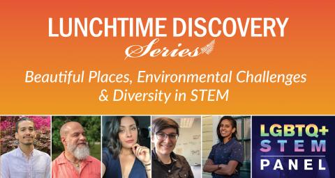 graphic advertising the LGBTQ+STEM Panel Discussion on June 30, 2021