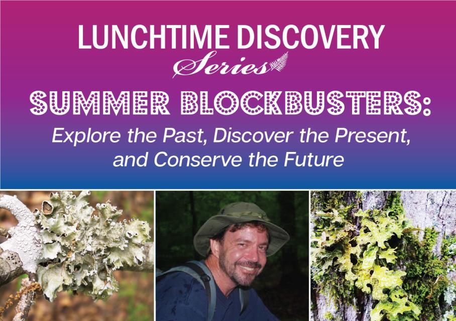 graphic advertising lichen talk on July 28