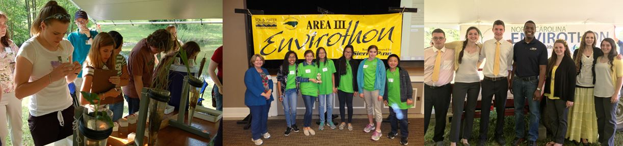 teens in the envirothon program