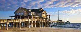 photo of Jennette's pier in nags head
