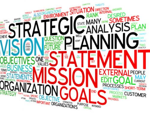 mission and vision graphics