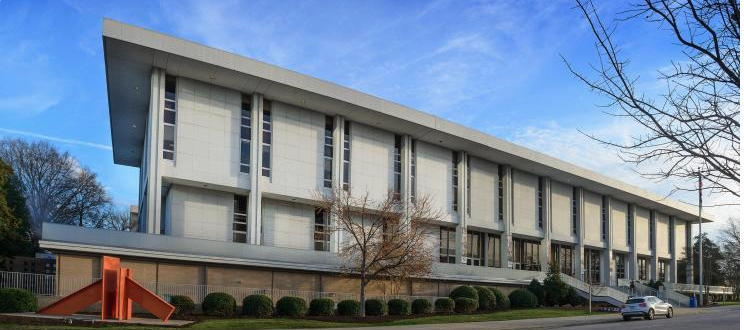 The Department of Natural and Cultural Resources building in North Carolina
