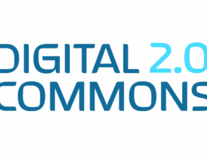 Digital Commons 2.0 as a stylized logo