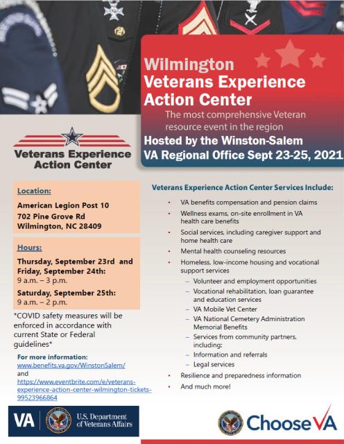 Wilmington VEAC Flyer