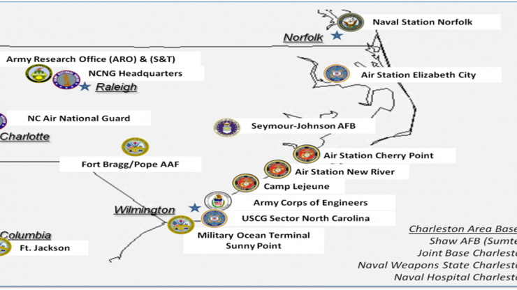 NC Military Installations