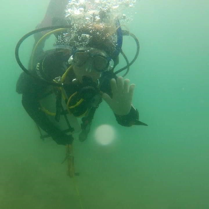 Archaeological dive in Costa Rica