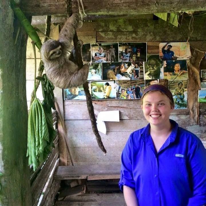 Sloth friend in Costa Rica