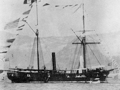 USS Huron Report