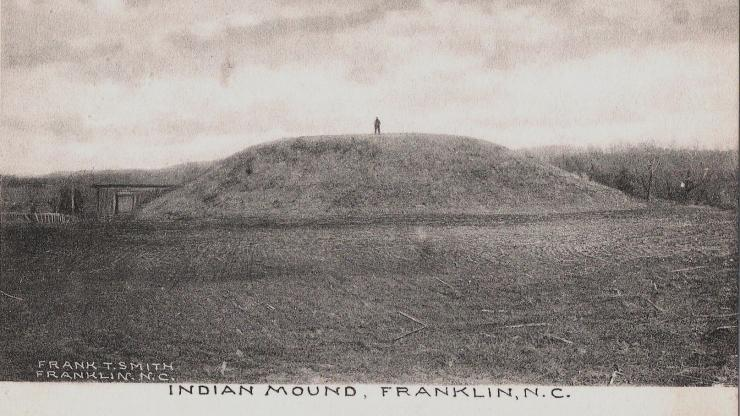 Native American Mound Franklin NC