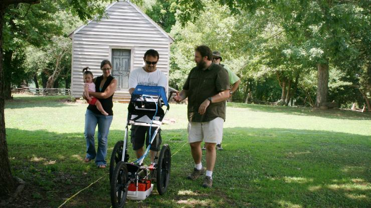 GPR Usage in Archaeology