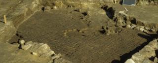Reid Site brick floor