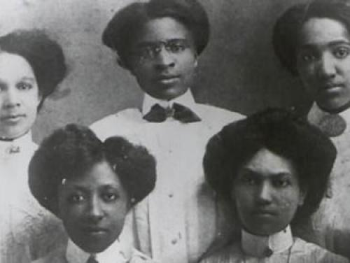 Five Palmer Institute Teachers courtesy of the Charlotte Hawkins Brown Museum