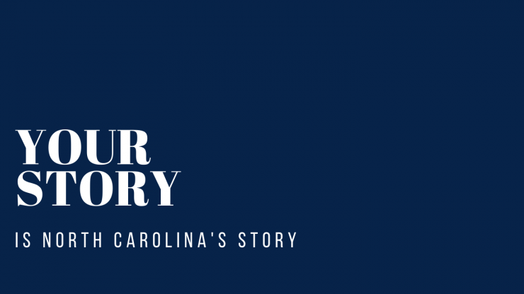 Your Story is North Carolina's Story logo