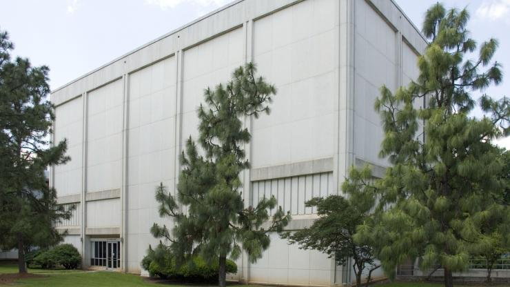 Exterior of the State Records Center Building