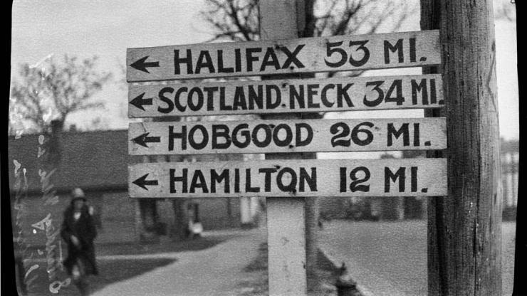 Photo of Williamston Milage Sign
