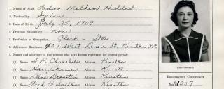 Lenoir County Alien Registration Record page 15