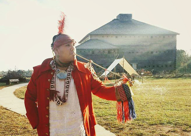 Malaciah G. Taylor an enrolled member of the Eastern Band of Cherokee Indians