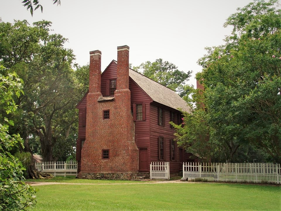 Palmer-Marsh house located in Bath North Carolina